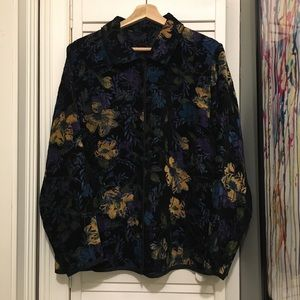 Jackets & Blazers - Vintage BEAUTIFUL Ugly 90s Flower COUCH Jacket L